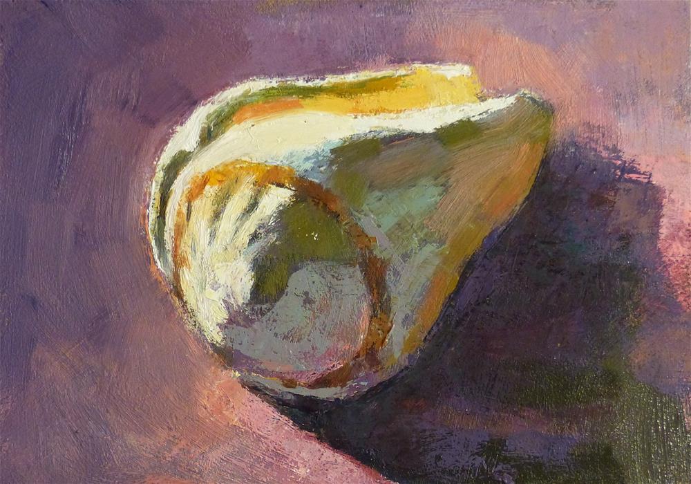 """""""Shell #2"""" original fine art by Katya Minkina"""