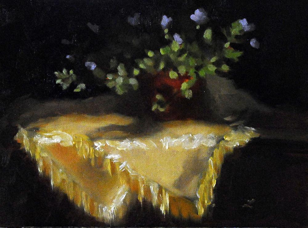 """Flower study"" original fine art by Lori Jacobs - Farist"