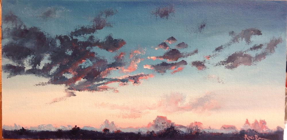 """""""Morning Sky"""" original fine art by Rose Brenner"""