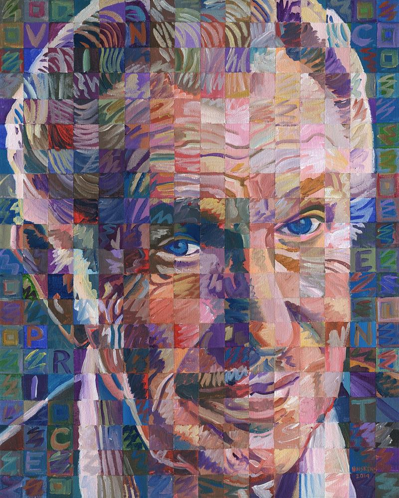 """Vincent Price #2"" original fine art by Randal Huiskens"