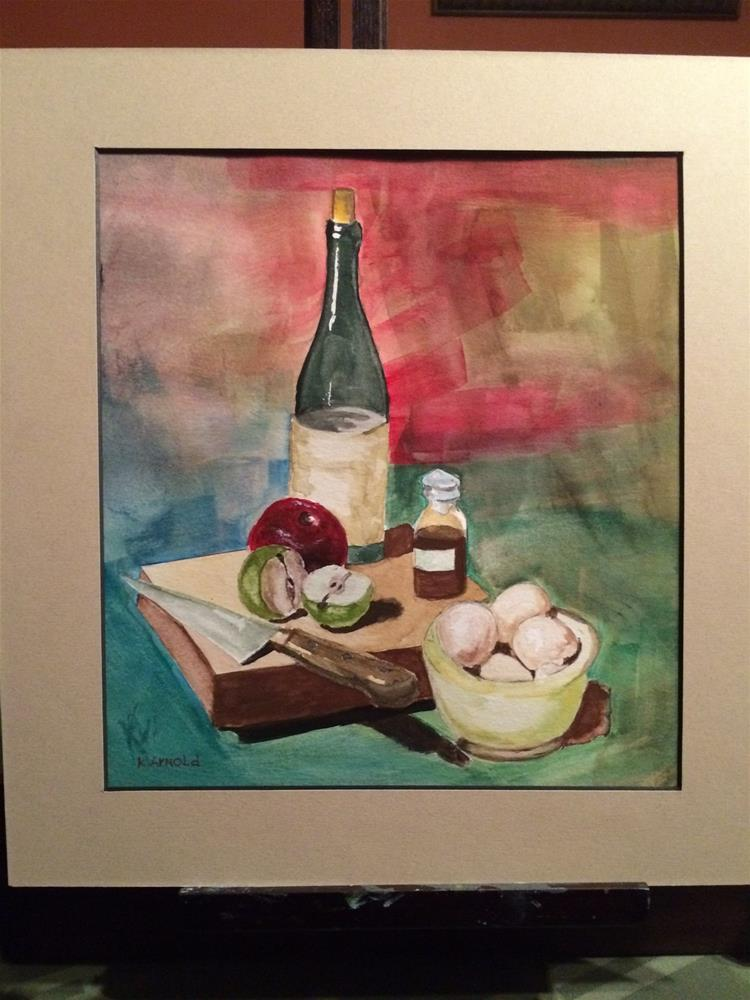 """""""Wineaux"""" original fine art by Kenny Arnold"""