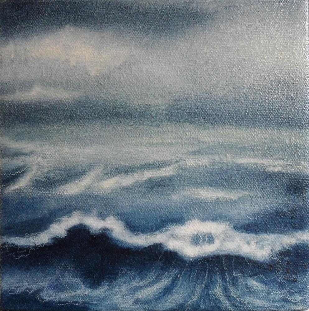 """Waters Called Seas"" original fine art by Karen Roncari"