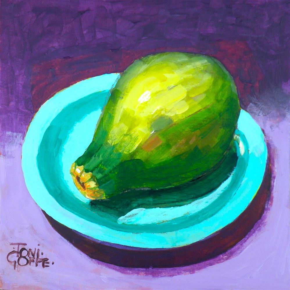 """""""Guava"""" original fine art by Toni Goffe"""