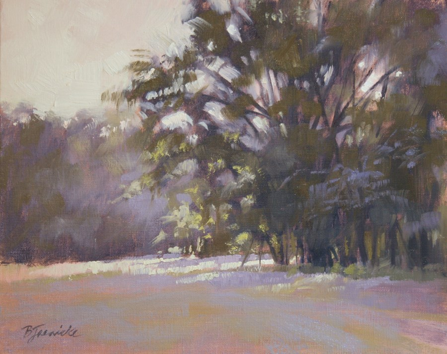 """Daybreak Streaming Through"" original fine art by Barbara Jaenicke"