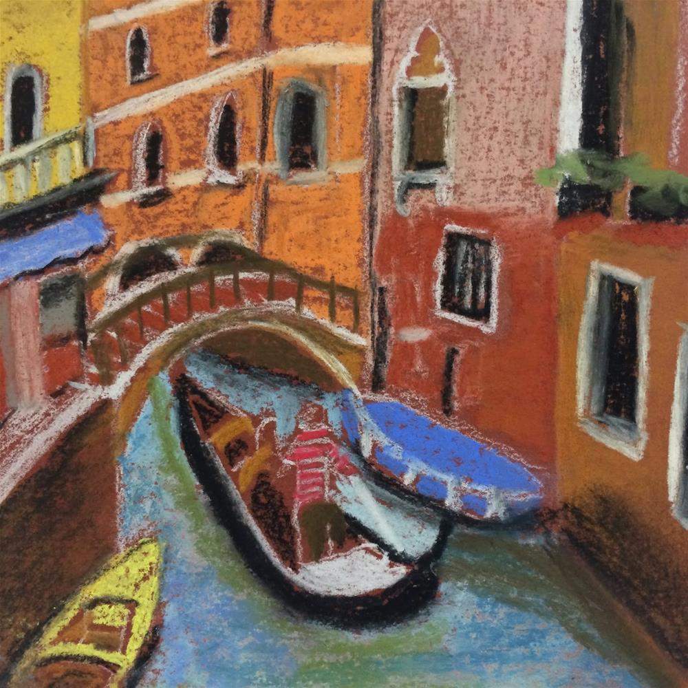 """Mini Venice"" original fine art by Kimberly Balentine"
