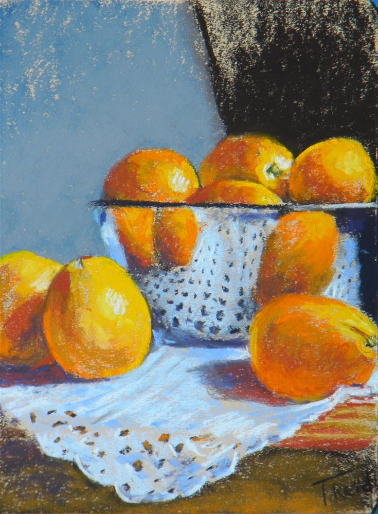 """Naval Oranges Reflection"" original fine art by Toby Reid"