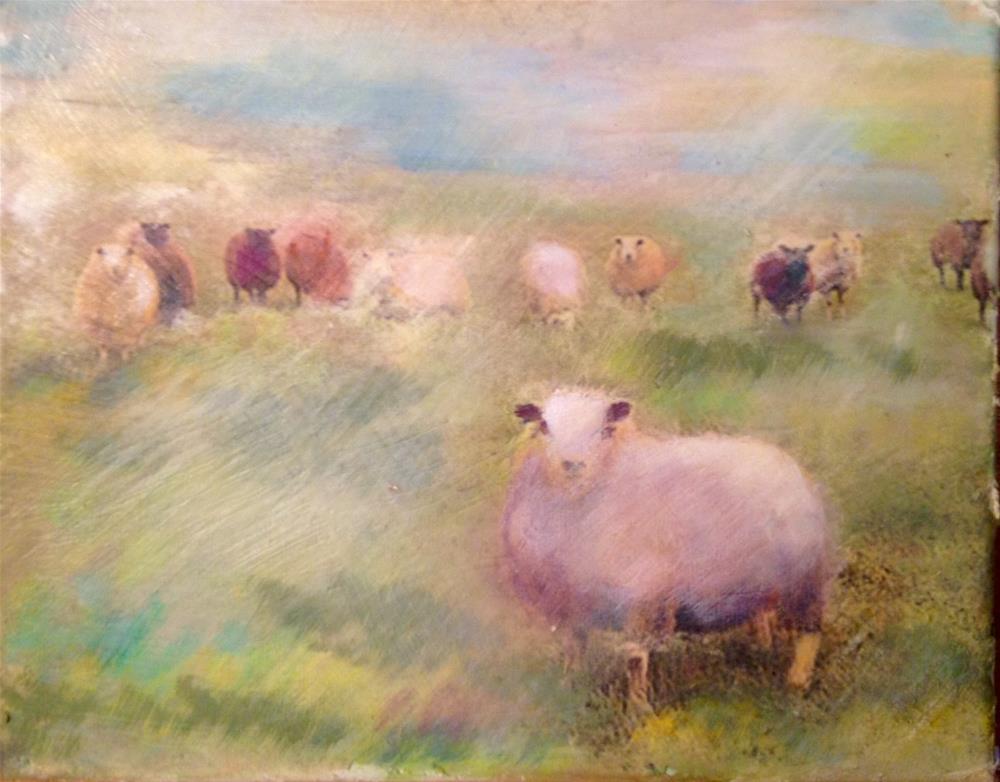 """Outstanding in his Field"" original fine art by barbara quast"