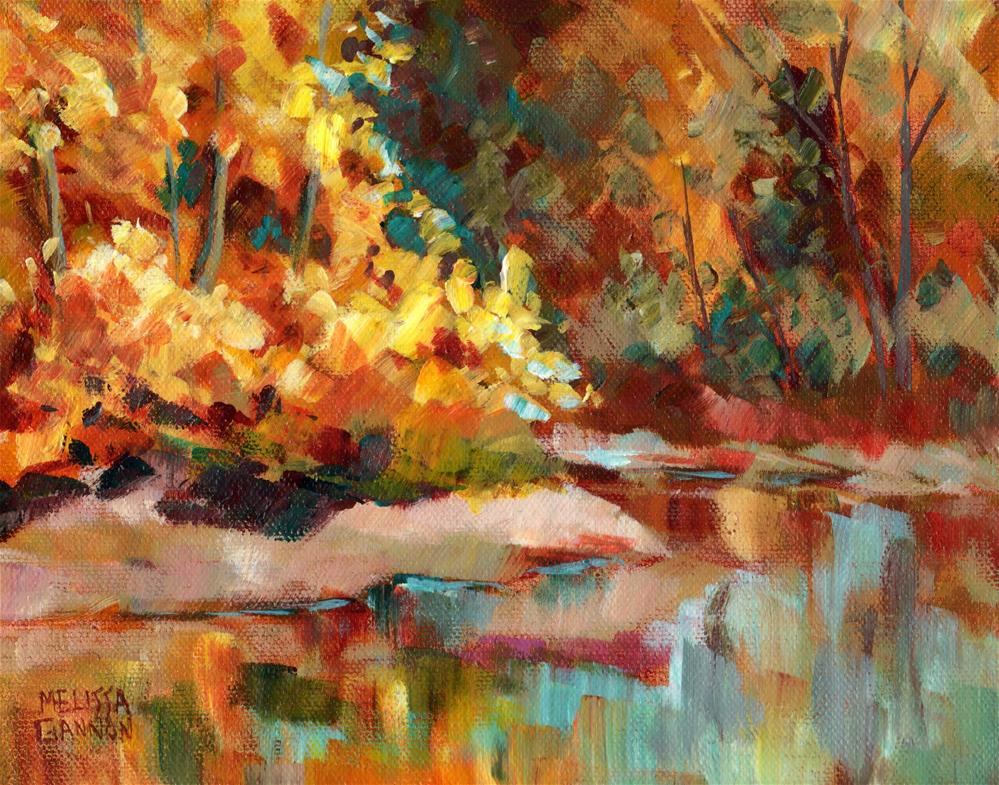 """Land & Water Magic"" original fine art by Melissa Gannon"