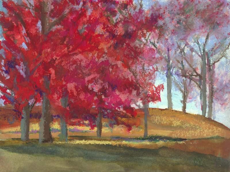 """""""Splendor"""" original fine art by Meredith Adler"""