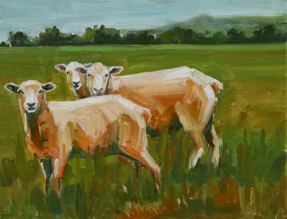 """""""intermission"""" original fine art by Carol Carmichael"""