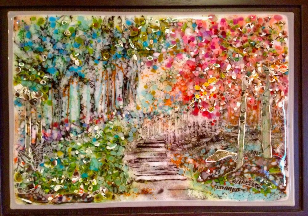 """Monet Path"" original fine art by Kelly Alge"