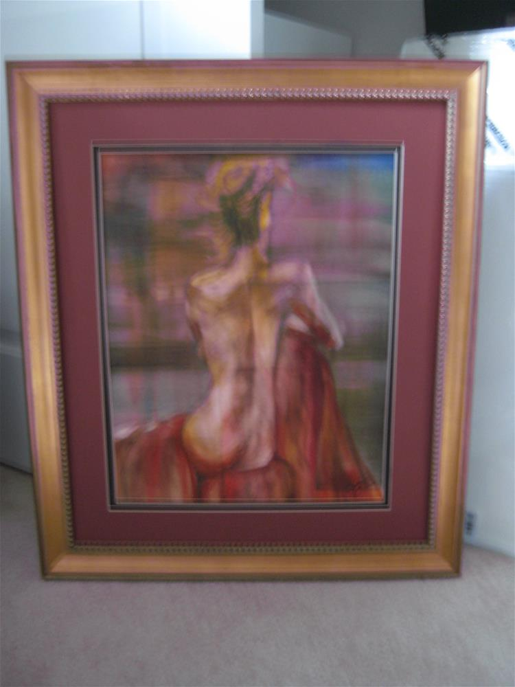 """Nude 3"" original fine art by Susan Brens"