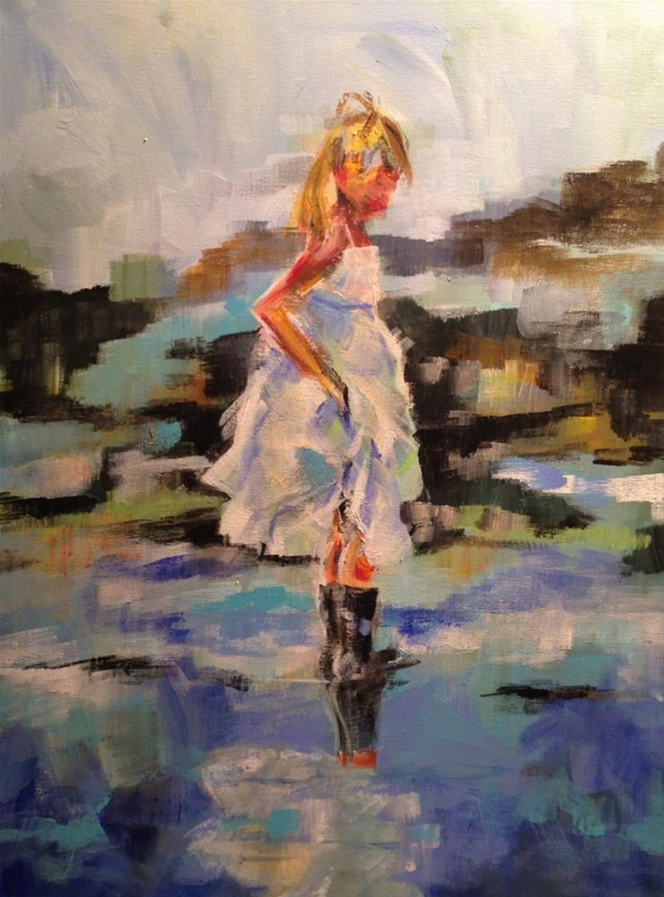 """Taylor"" original fine art by Molly Wright"