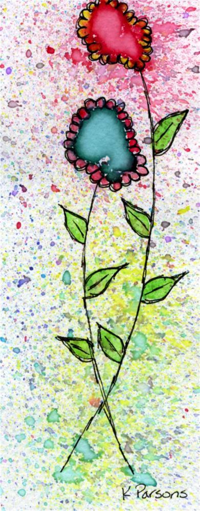 """Scalloped Beauties"" original fine art by Kali Parsons"