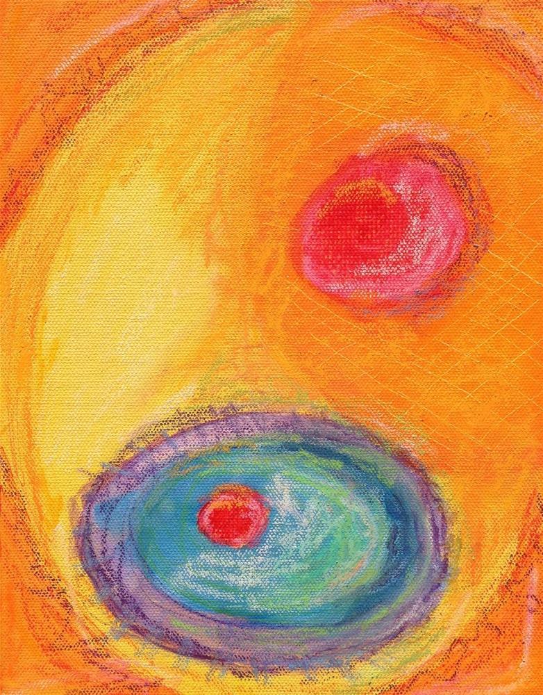 """""""Rockabye Dotty"""" original fine art by Dotty Seiter"""