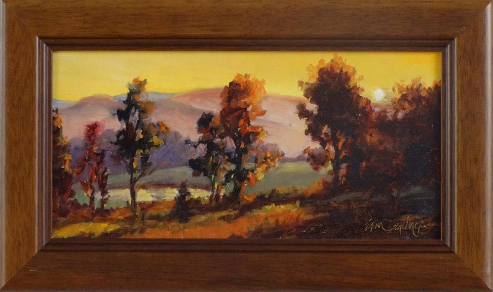 """""""Pastoral Daybreak"""" original fine art by Erin Dertner"""