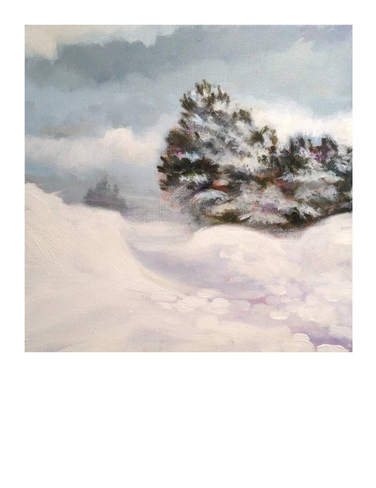 """Nor'easter"" original fine art by Suzanne Woodward"