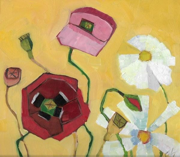 """Poppy"" original fine art by Elizabeth See"