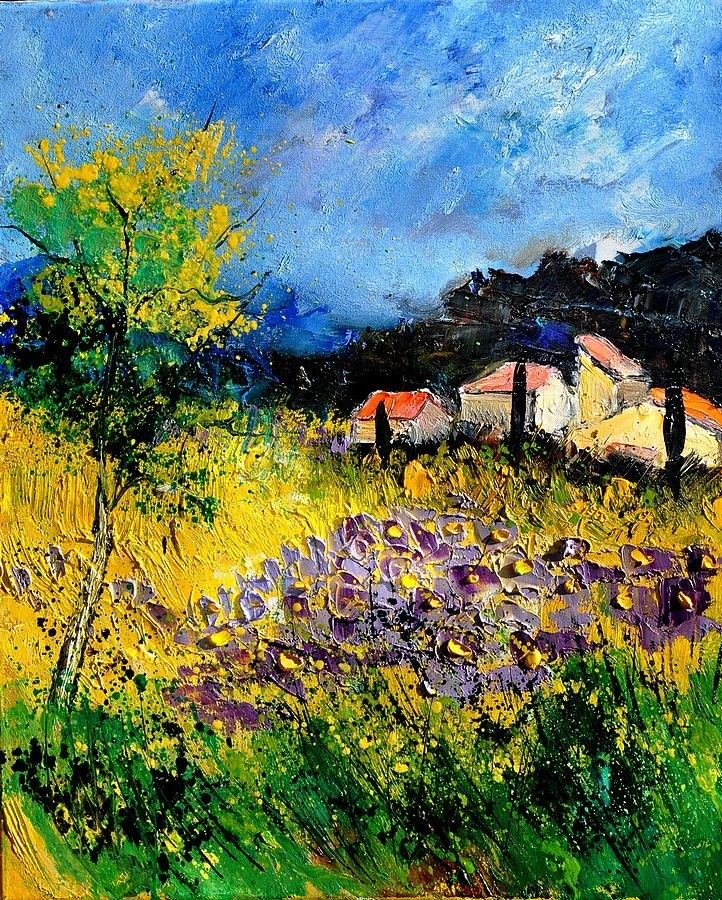 """Provence 562180"" original fine art by Pol Ledent"