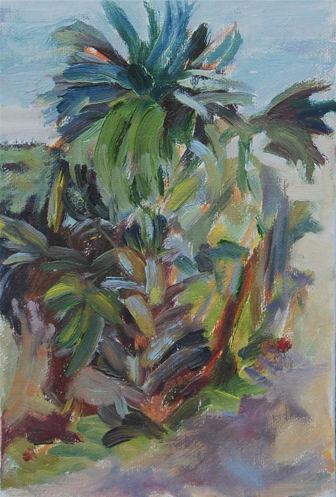 """""""Plein Air Study—Tybee Island"""" original fine art by Carol DeMumbrum"""