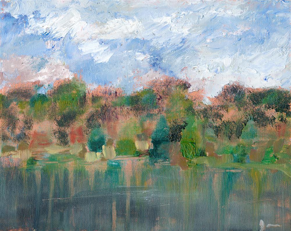 """After The Rain"" original fine art by Janet Gunderson"