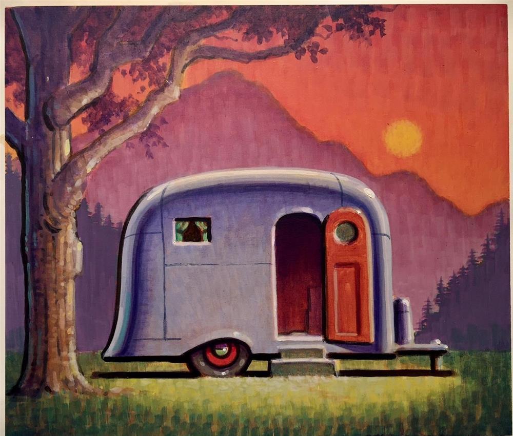 """Springtime"" original fine art by Robert LaDuke"