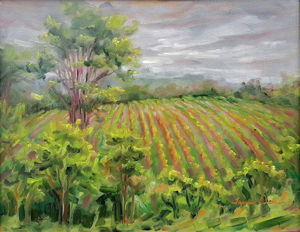"""Moody Balducci"" original fine art by Tammie Dickerson"