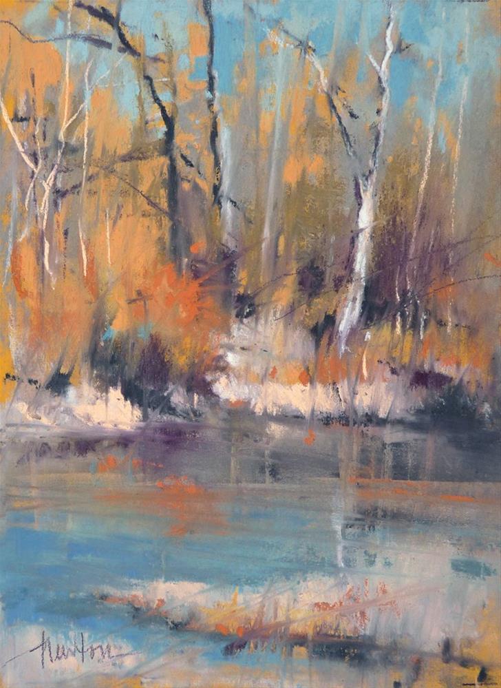 """""""Nisqually Reserve"""" original fine art by Barbara Benedetti Newton"""