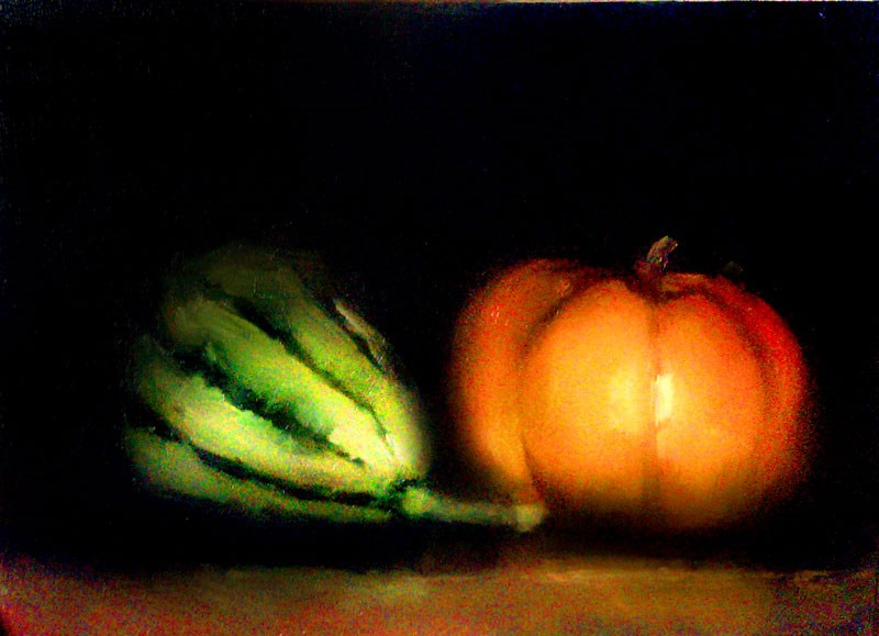 """Seasonal Fruit"" original fine art by Bob Kimball"