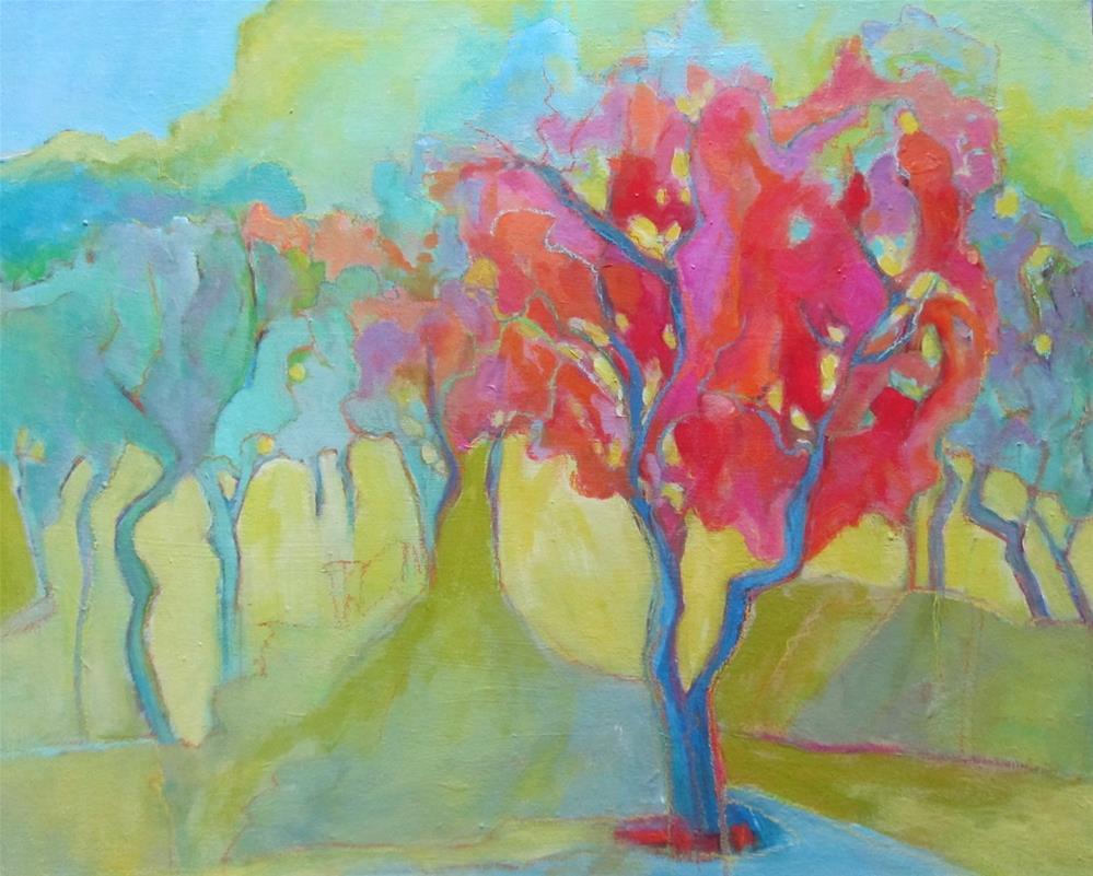 """Olive Trees Near Saint-Remy"" original fine art by Patricia MacDonald"