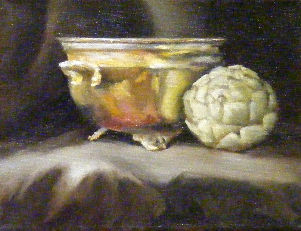 """Solitude, Still-Life"" original fine art by Diana Delander"