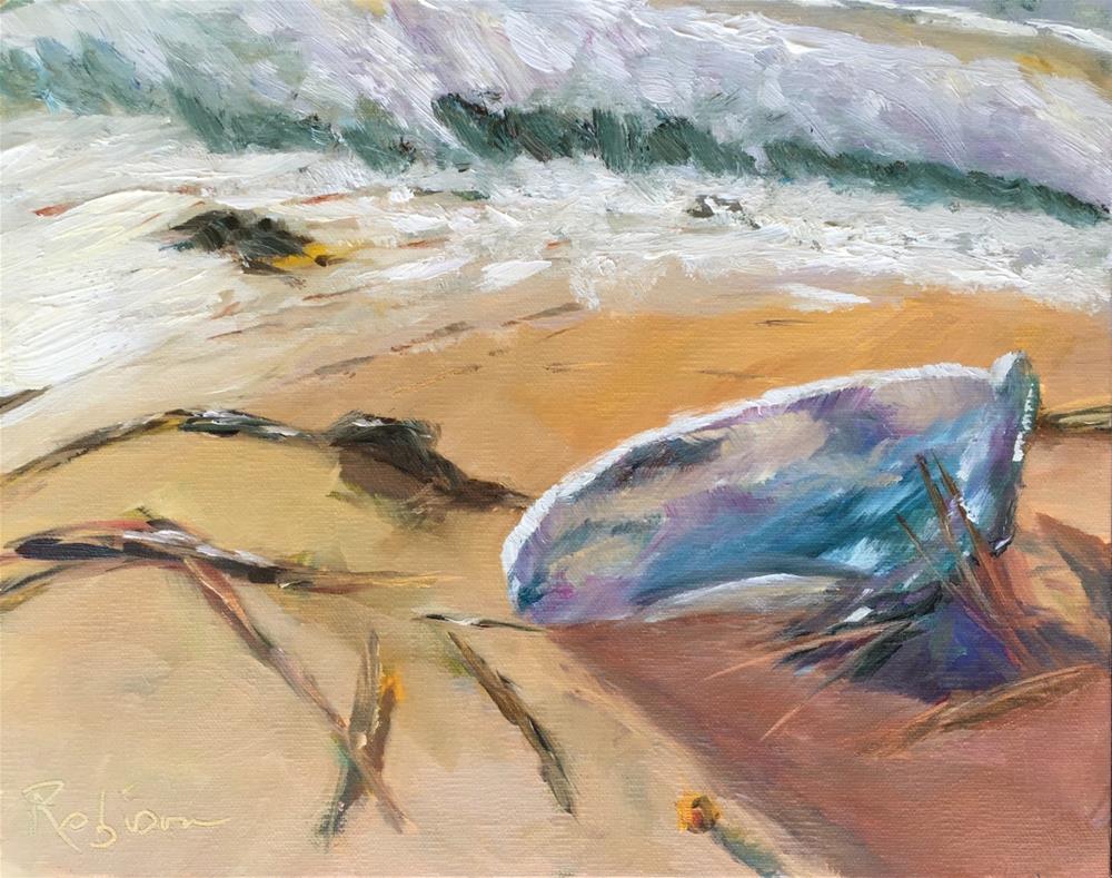 """Dangerous Sealife"" original fine art by Renee Robison"