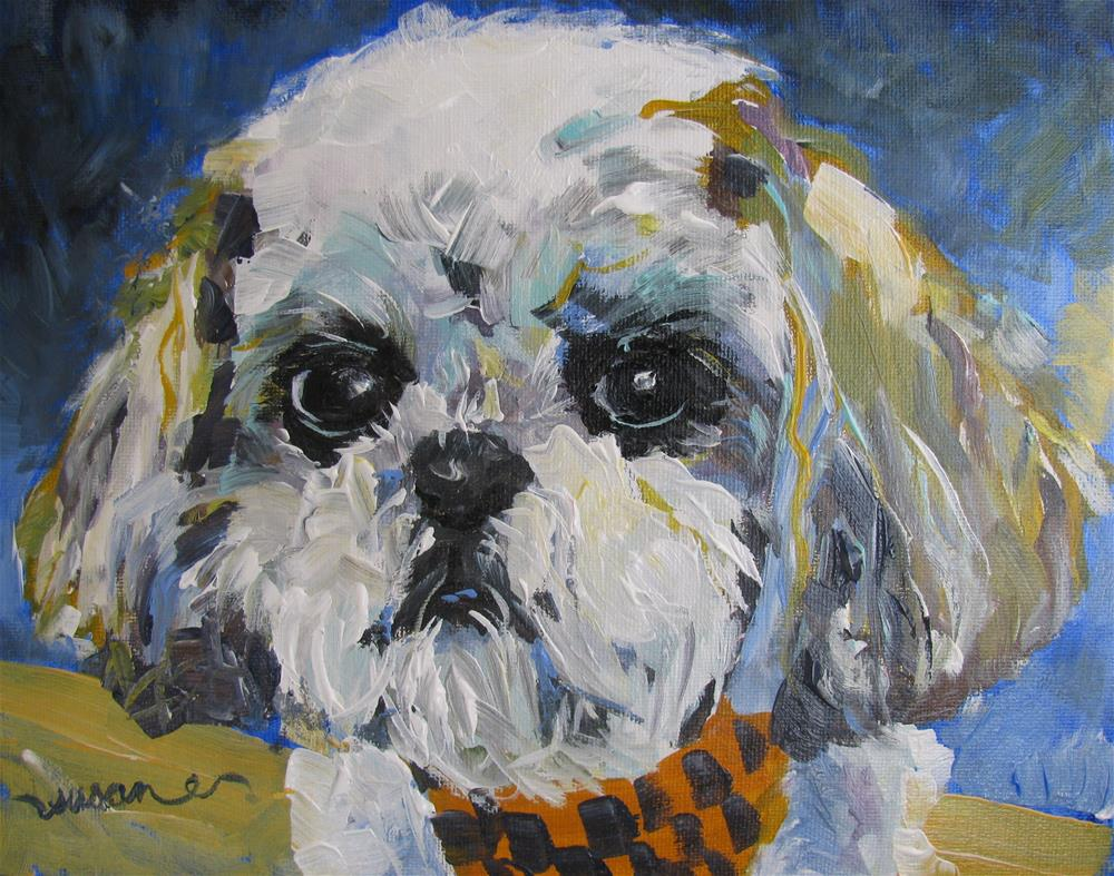 """Tuffy"" original fine art by Susan Elizabeth Jones"