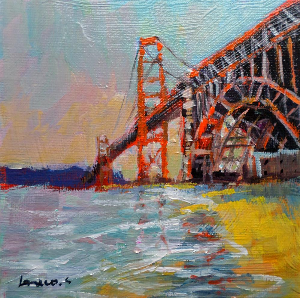 """San Francisco"" original fine art by salvatore greco"