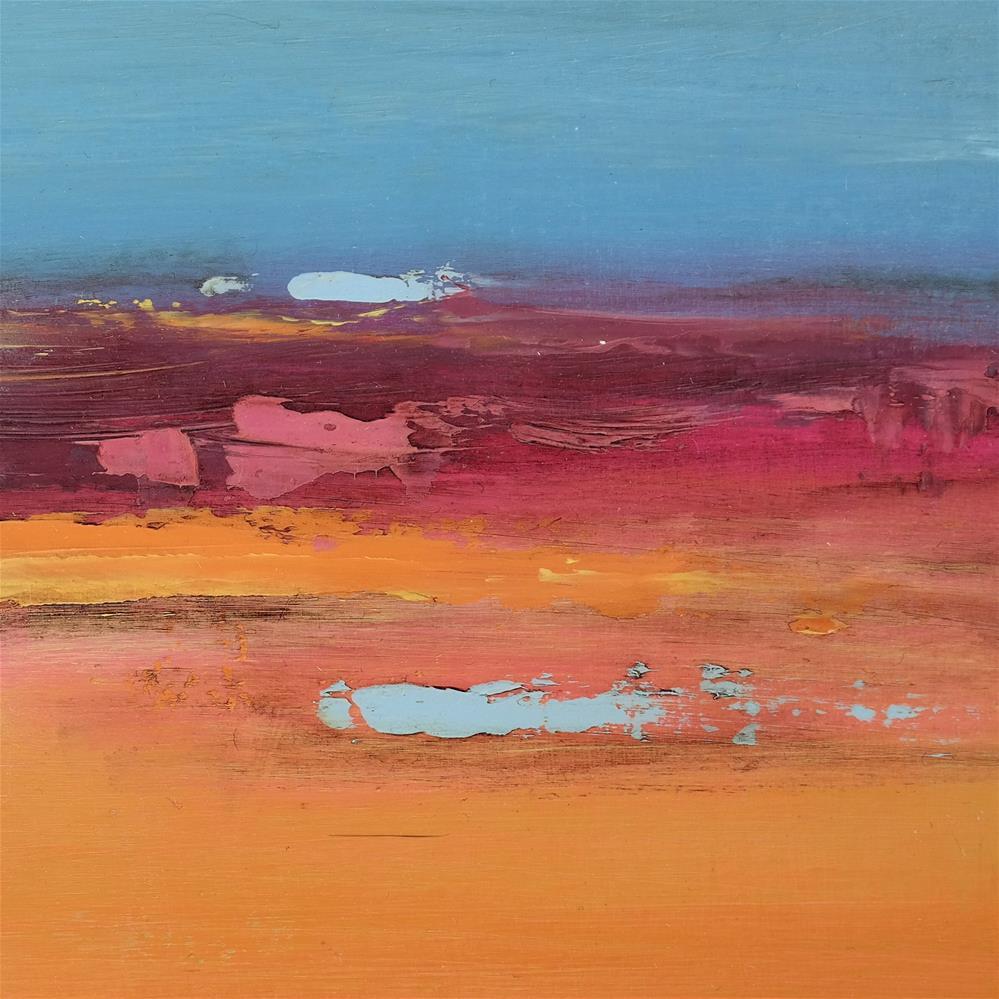 """Landscape 256"" original fine art by Ewa Kunicka"