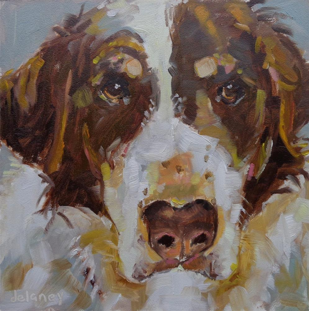 """CASSIE"" original fine art by Jean Delaney"