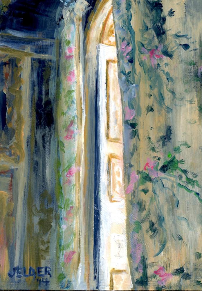 """Versailles No. 9"" original fine art by Judith Elder"