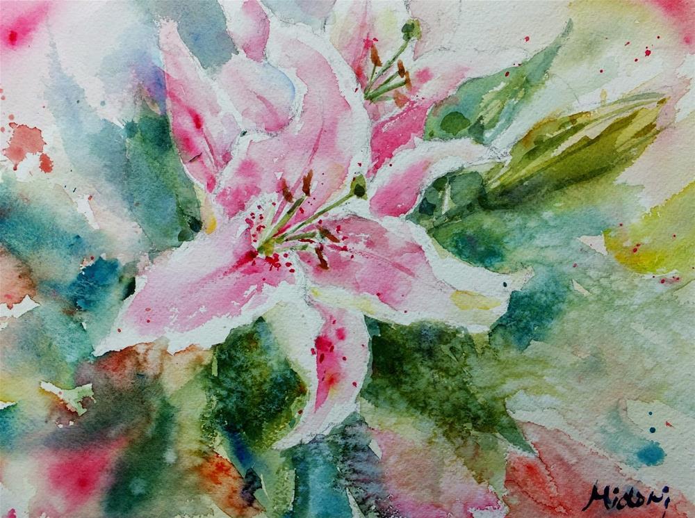 """untitled"" original fine art by Midori Yoshino"