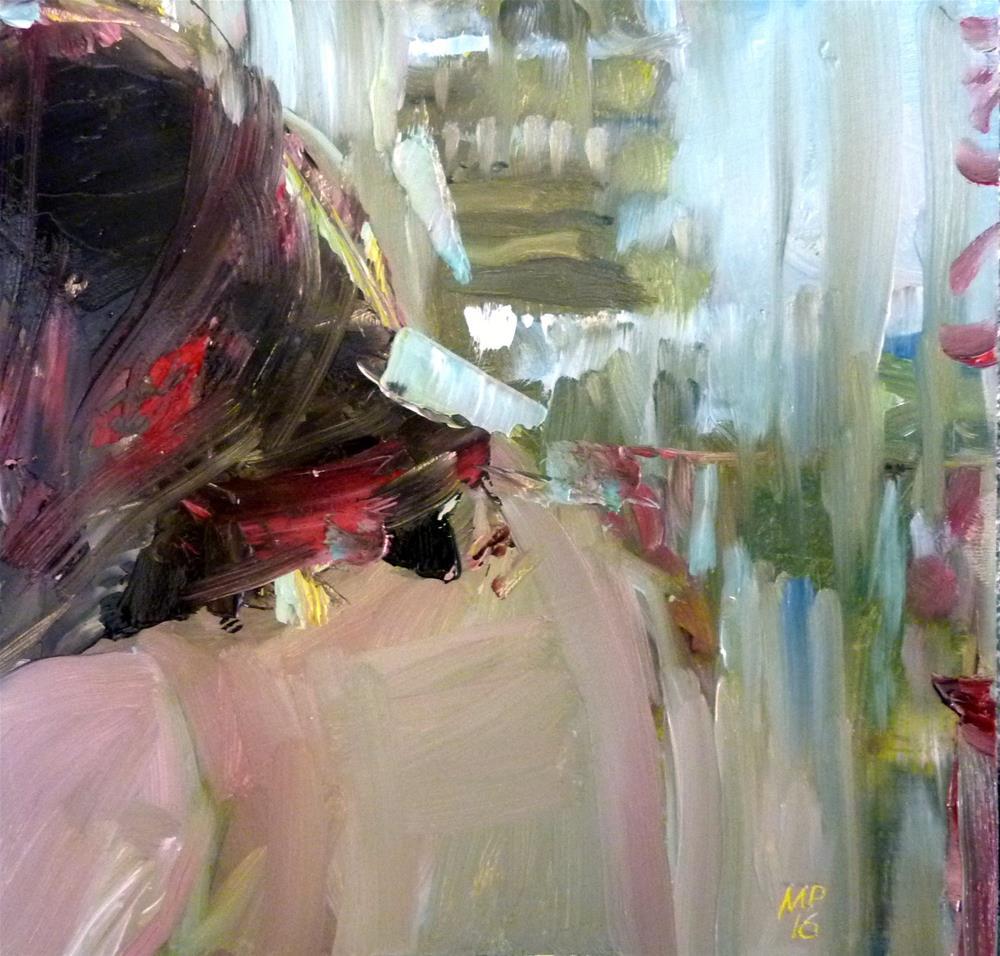 """Rückenansicht"" original fine art by Mila Plaickner"