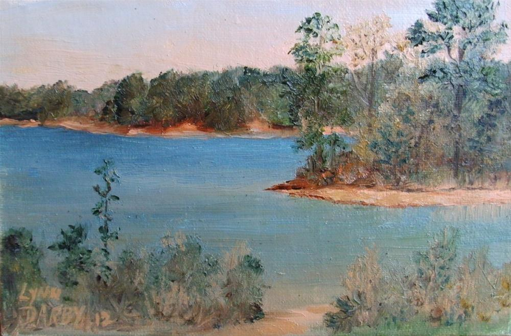 """Veasey Creek"" original fine art by Lynn Darby"