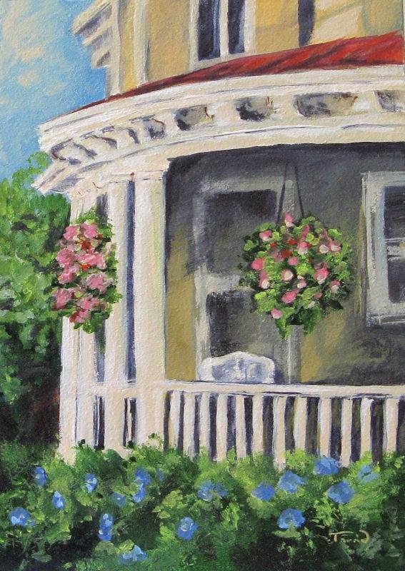 """""""Porch"""" original fine art by Torrie Smiley"""