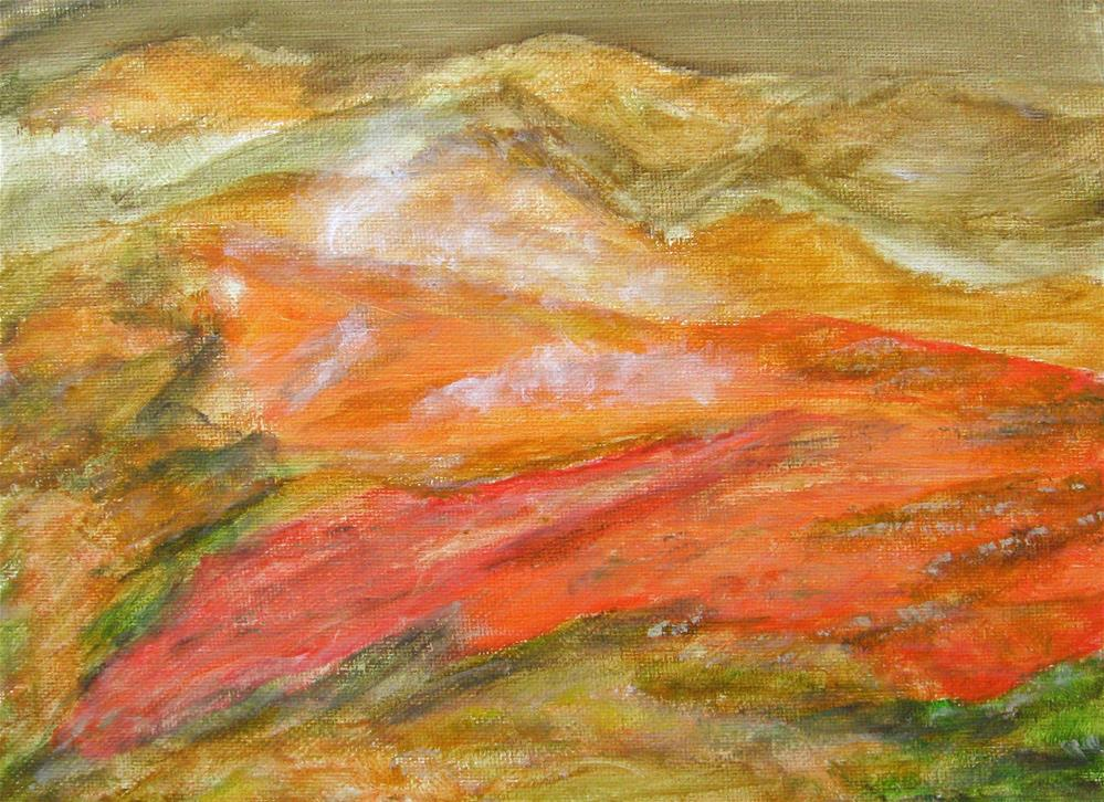"""Warm In Iceland 2"" original fine art by Alina Frent"