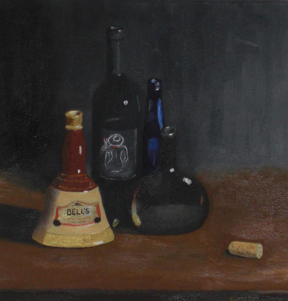 """Bell and Company"" original fine art by Bob Blackmon"