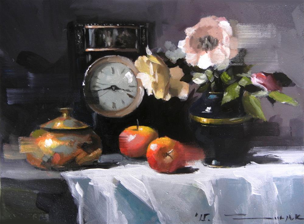 """Black"" original fine art by Dragan Culjak"