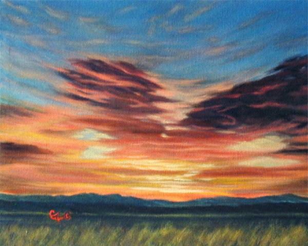 """""""Butterfly Kisses"""" original fine art by Carol Zirkle"""