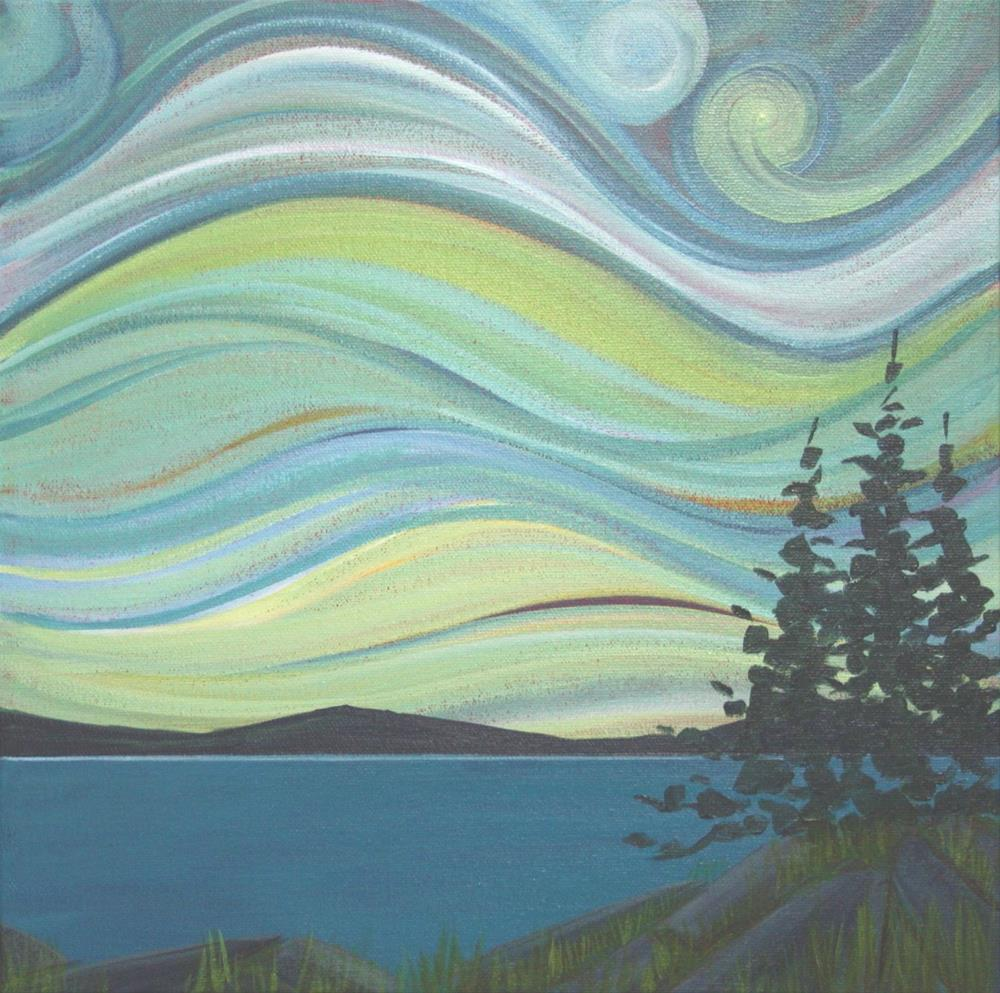 """Colour of the Wind: Evening"" original fine art by Sage Mountain"