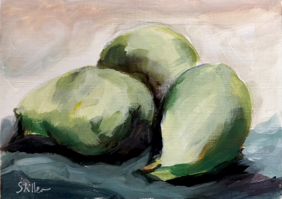 """1879 More Pears"" original fine art by Dietmar Stiller"
