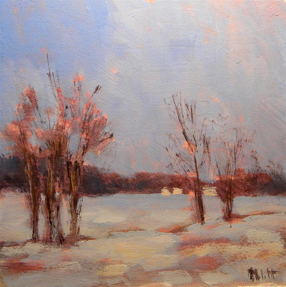 """First Snow"" original fine art by Heidi Malott"