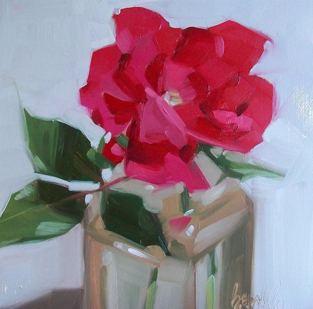 """Red Beauty"" original fine art by Brandi Bowman"