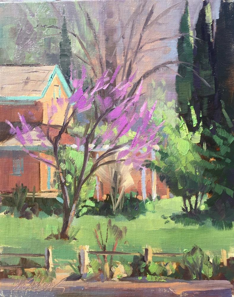 """Spring in Toquerville"" original fine art by Mary Jabens"